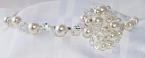 round pearl tiara