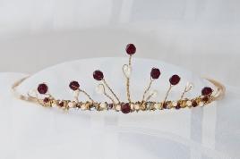 ruby tiara