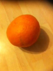 What? It could have been a satsuma.